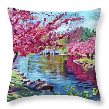 Spring Soliloquy Throw Pillow