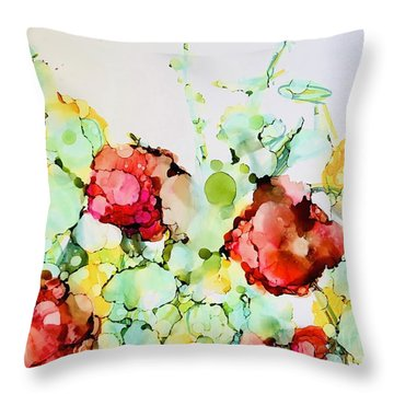 Spring To Summer Throw Pillow
