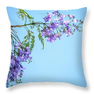 Springtime Beauty Throw Pillow