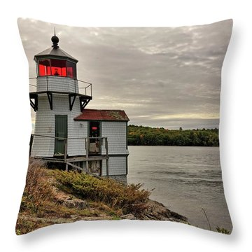 Squirrel Point Light Throw Pillow