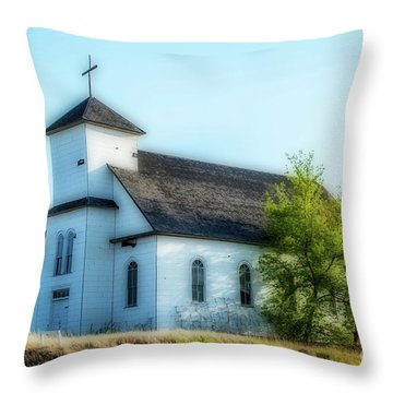 St. Agnes. Church Throw Pillow