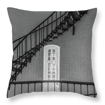 St Augustine Lighthouse Throw Pillow