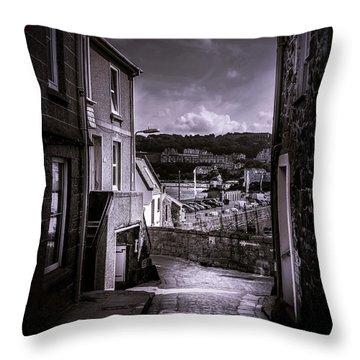 St Ives Street Throw Pillow