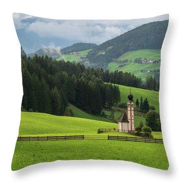 St Johann From The East Throw Pillow