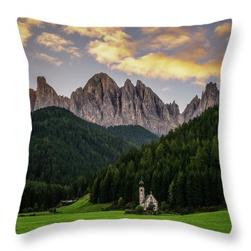 St Johann Sunrise Throw Pillow