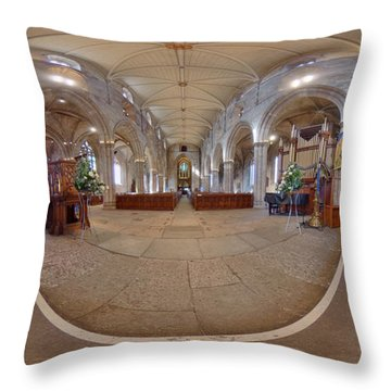 St Michael's Parish Church Of Scotland Throw Pillow