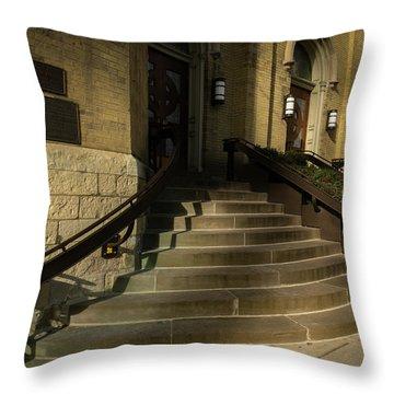 St Pete's Catholic Church Throw Pillow