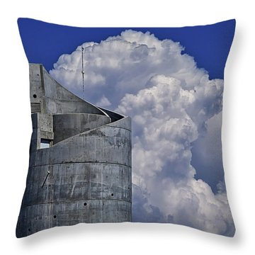 Throw Pillow featuring the photograph Stacked by Skip Hunt