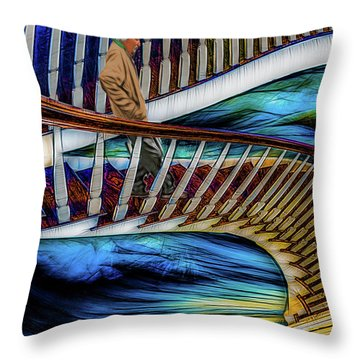 Stairway To Perdition Throw Pillow