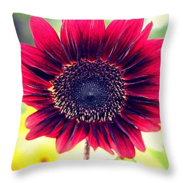 Throw Pillow featuring the photograph Stand Out by Candice Trimble