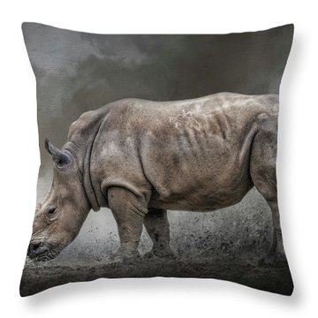 Stand Strong Throw Pillow