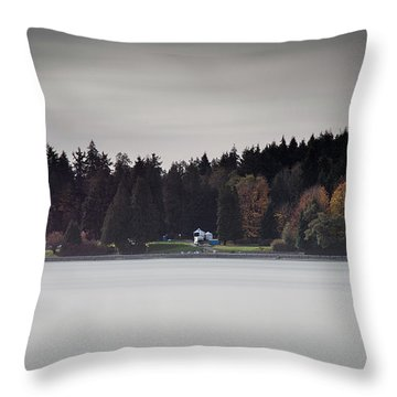 Stanley Park Vancouver Throw Pillow