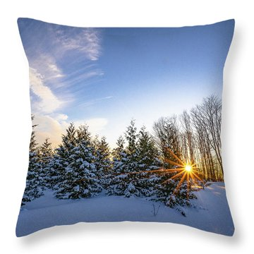 Star Bright Throw Pillow