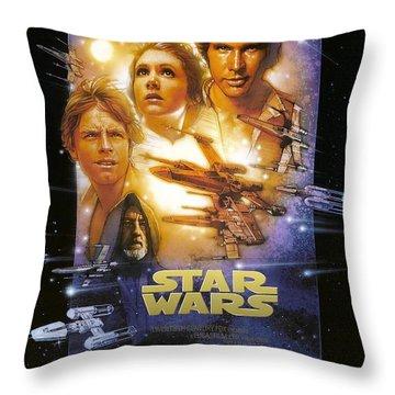 Star Wars. Episodio Iv Throw Pillow