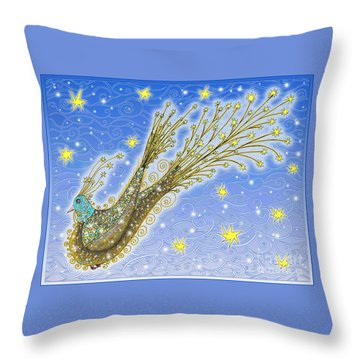 Starbird Throw Pillow