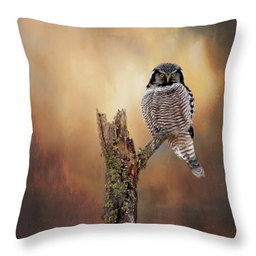 Stare Into My Eyes Throw Pillow
