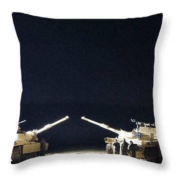 Stars Can Only Shine In Darkness Throw Pillow
