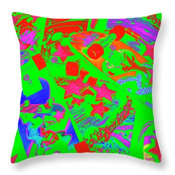 Starskate  Throw Pillow