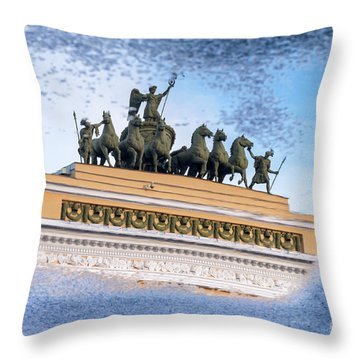 State Hermitage Museum Throw Pillow