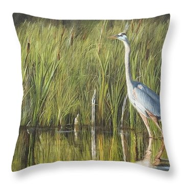 Stately Grace Throw Pillow