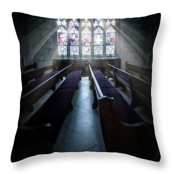Stay Blessed Throw Pillow