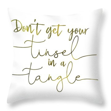 Stay Cool Quote Throw Pillow