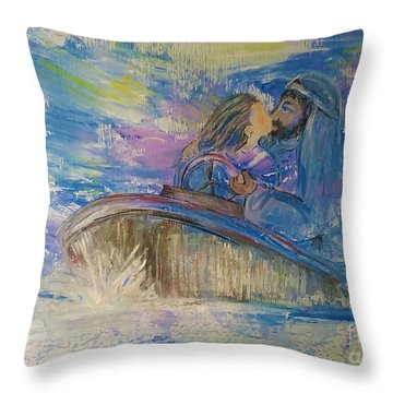 Staying The Course Throw Pillow
