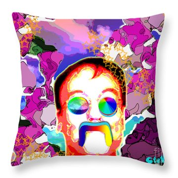 Stevie Max Throw Pillow