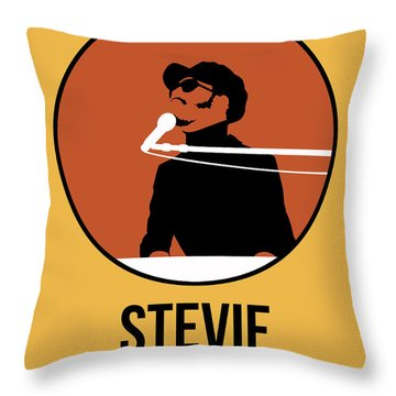 Stevie Wonder Throw Pillow