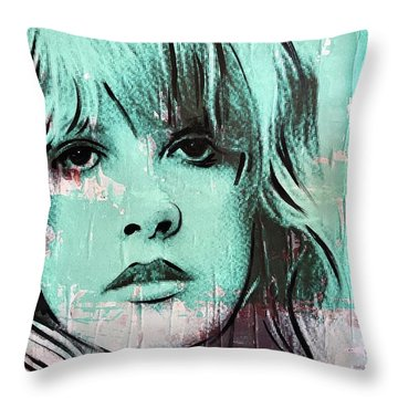 Stevies Crystal Visions Throw Pillow