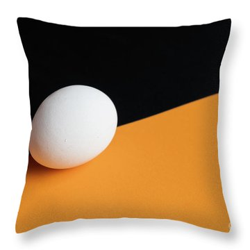 Still Life With Egg Throw Pillow