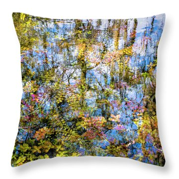 Stillness Holds Everything Throw Pillow