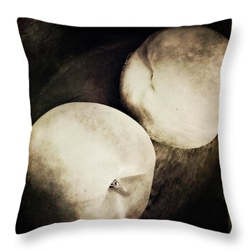 Throw Pillow featuring the photograph Stillnight by Catherine Sobredo