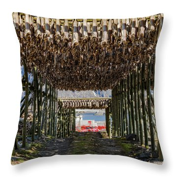 Stockfish Throw Pillow