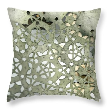 Stone Sky Throw Pillow