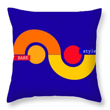 Storm Style Throw Pillow