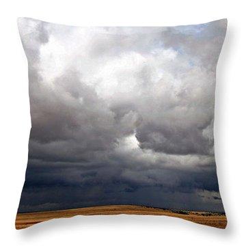 Storm's A-gathering Throw Pillow