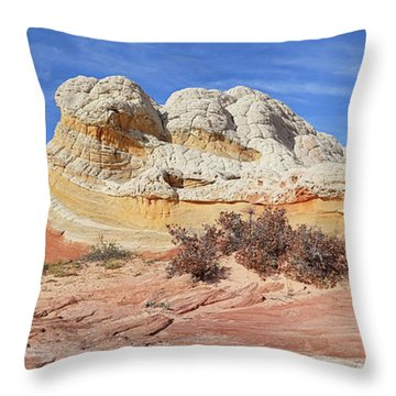 Throw Pillow featuring the photograph Strange Structures by Theo O'Connor