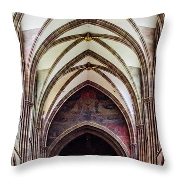 Strasbourg Cathedral - 2 Throw Pillow