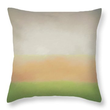 Stratified Throw Pillow