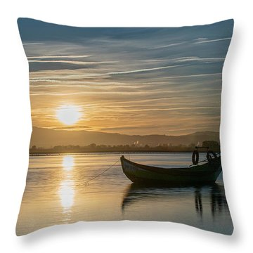 Throw Pillow featuring the photograph Strikes by Bruno Rosa