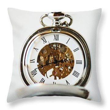Studio. Pocketwatch. Throw Pillow