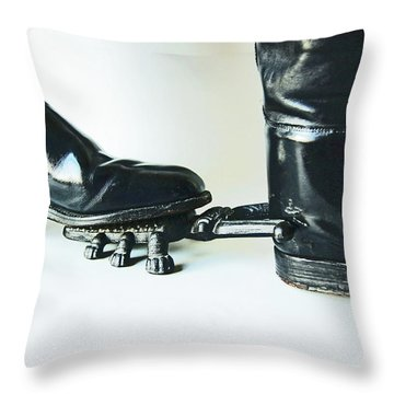 Studio. Boots And Boot Pull. Throw Pillow