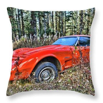 Stung Throw Pillow