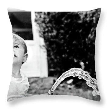 Summer Cool Down Throw Pillow