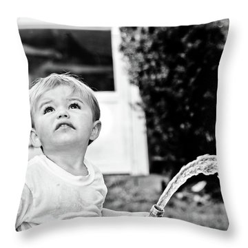Summer Cool Down Throw Pillow