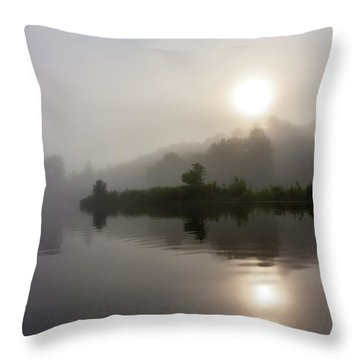 Summer Dawn Throw Pillow