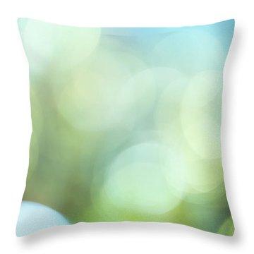Summer Day II Throw Pillow