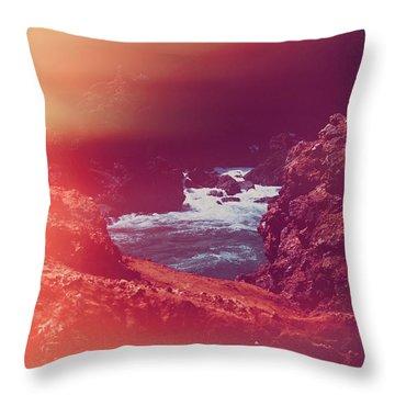 Summer Dream IIi Throw Pillow