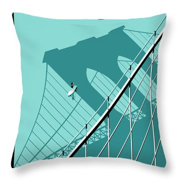 Summer Hours Throw Pillow